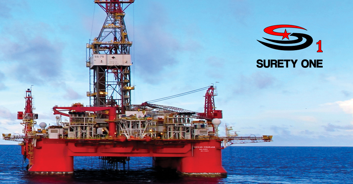 BOEM Drilling Bond (Surety One, Inc.), ocean energy management surety bond, bureau of ocean energy management surety bond,