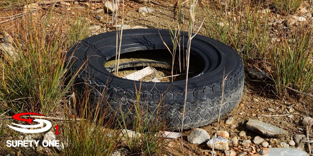 Waste Tire Hauler Surety Bond