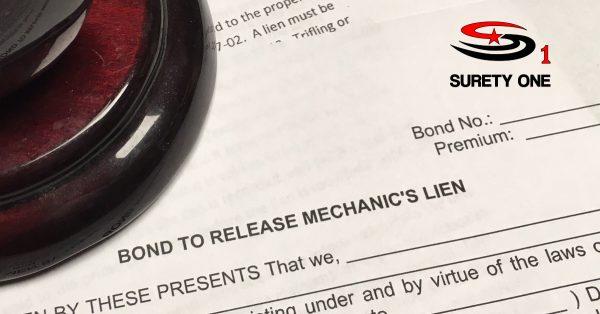 mechanics lien release bond, mechanics lien discharge bond, mechanics lien release surety bond, mechanics lien discharge surety bond, north dakota mechanic's lien release bond, north dakota mechanic's lien discharge bond