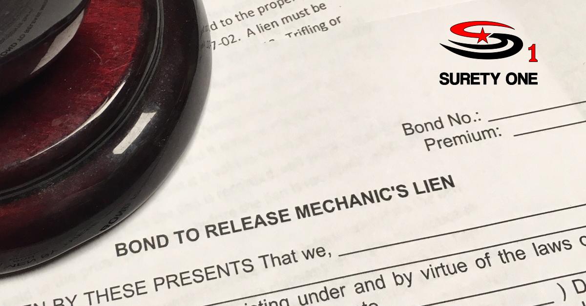 North dakota mechanic 39 s lien release bond for Motor vehicle surety bond